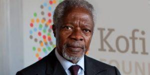 Former UN Secretary-General Kofi Annan